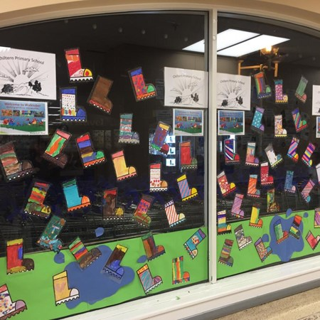 Tesco Autumn Window